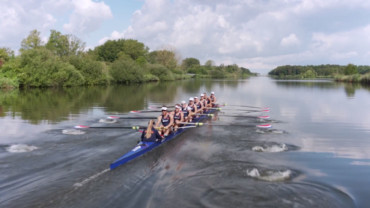 Holland 8 roeiteam op volle toeren (video)