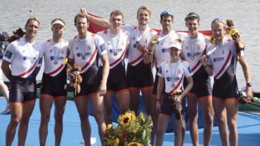 Holland 8 wint zilver op WK en plaatst zich voor Tokio