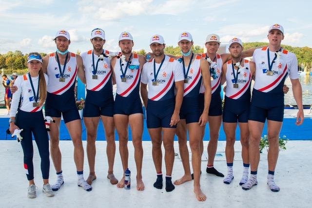 Bronzen EK-medaille Holland 8